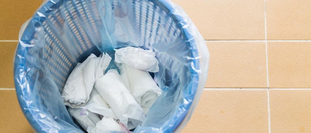 period pad, waste, feminine, female, 月經, 生理期, 環保, 布衛生棉, 拋棄式衛生棉
