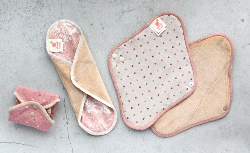 period pad, waste, feminine, female, 月經, 生理期, 環保, 布衛生棉, 櫻桃蜜貼